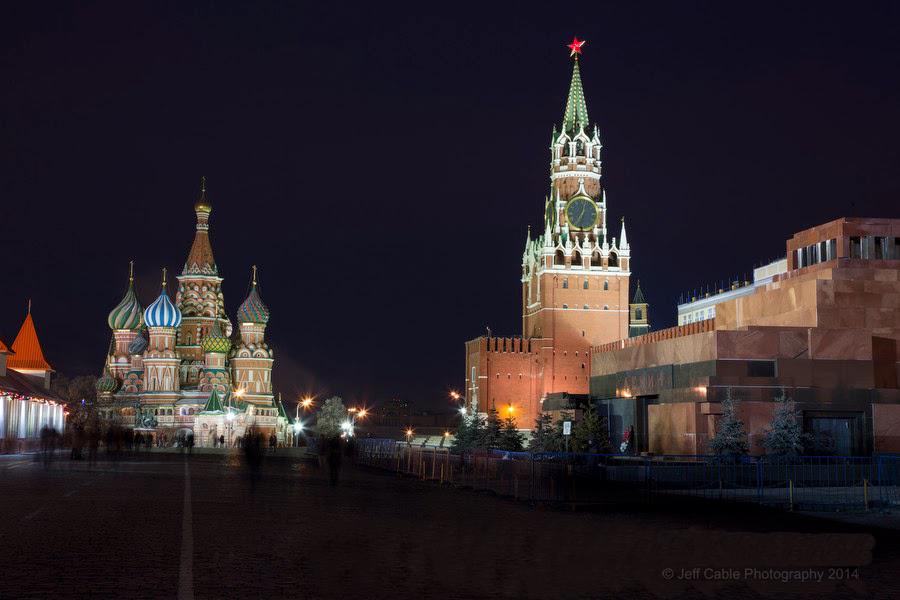 Знаменитые места Москвы
