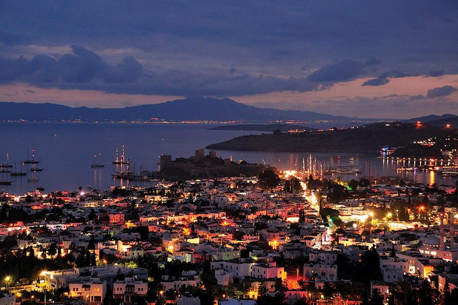 Вечерний Бодрум, Турция