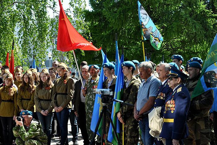 1 мая от мемориала Вечный Огонь в Тамбове. Фото culturavrn.ru