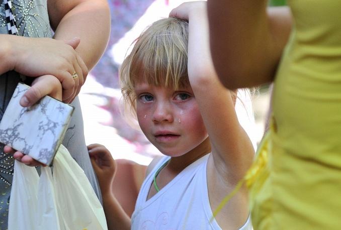 Дети Донбасса. Фото ИТАР-ТАСС