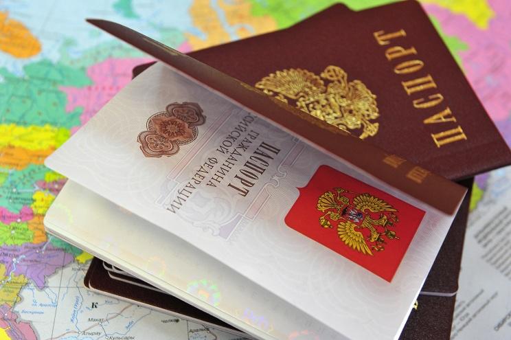 Получение паспорта. Фото ИТАР-ТАСС