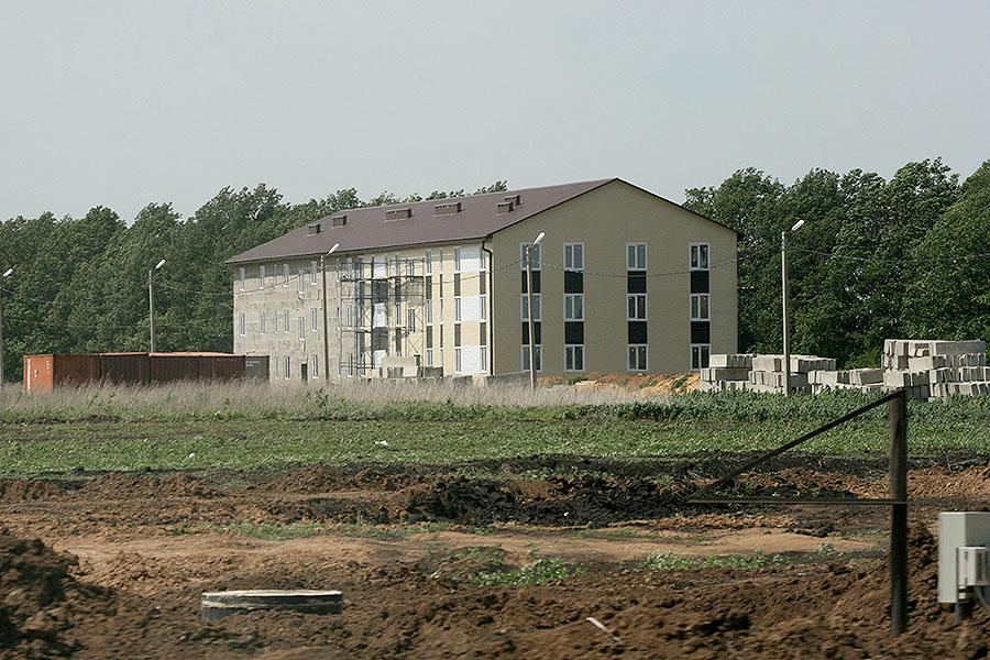 Микрорайон Звездный в Тамбове - начало строительства