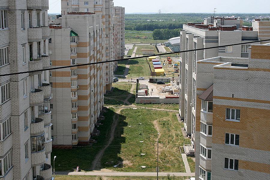 Будущий прогулочный бульвар в Московском