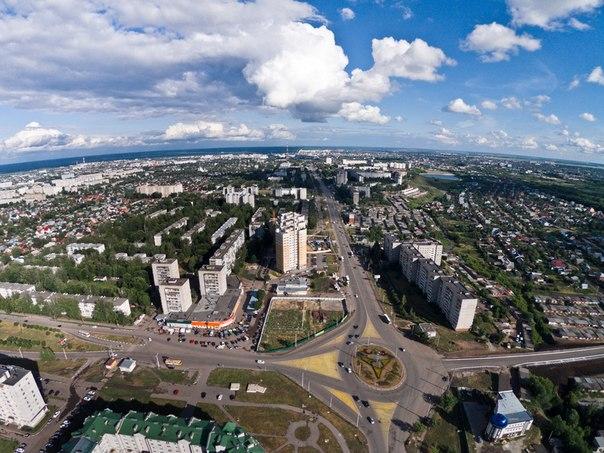 Московский с высоты пт
