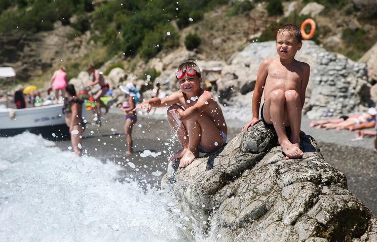 Отдых детей на море