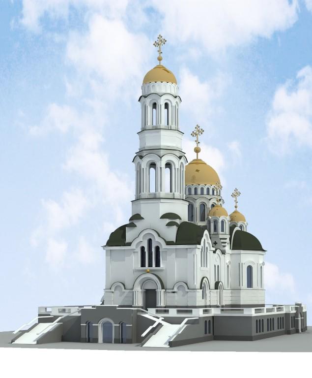 3D-визуализация храма