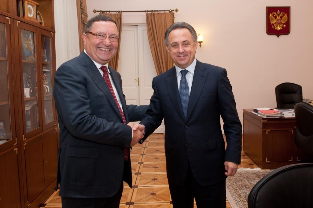 Виталий Мутко и Олег Бетин
