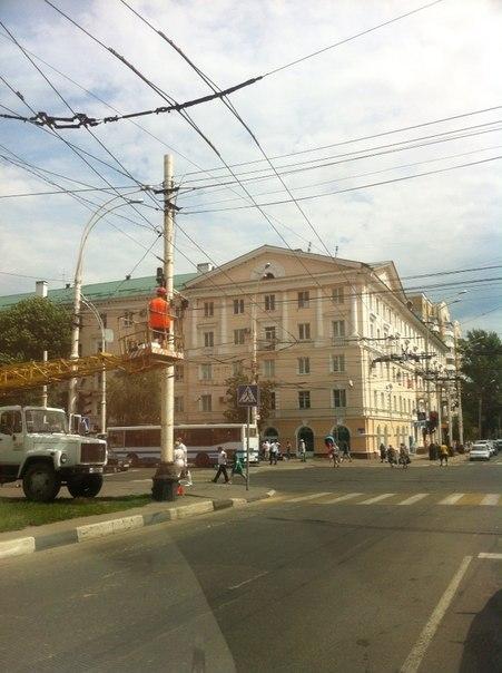 Перекресток Чичканова и Советская