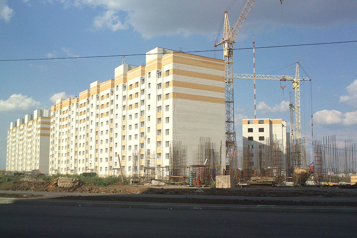 Строительство на севере Тамбова