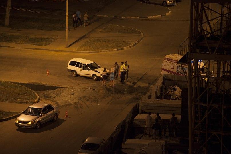 Авария на улице Агапкина 27 июля
