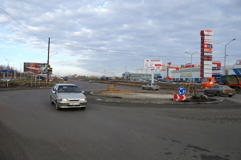 Улица Мичуринская, дорога