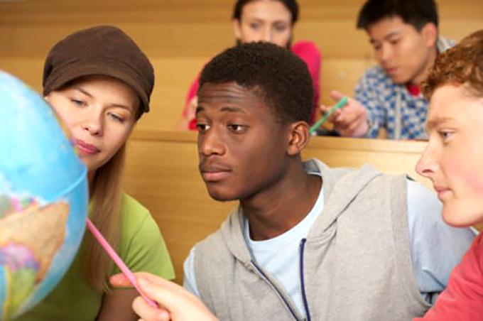Африканские студенты