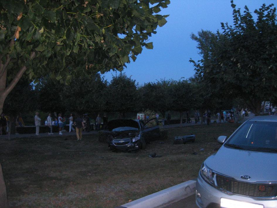 ДТП на Набережной 24 августа 2014 года