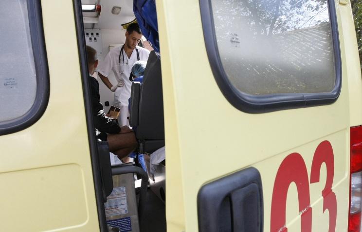 Авария в Тамбове, скорая помощь. Фото ИТАР-ТАСС