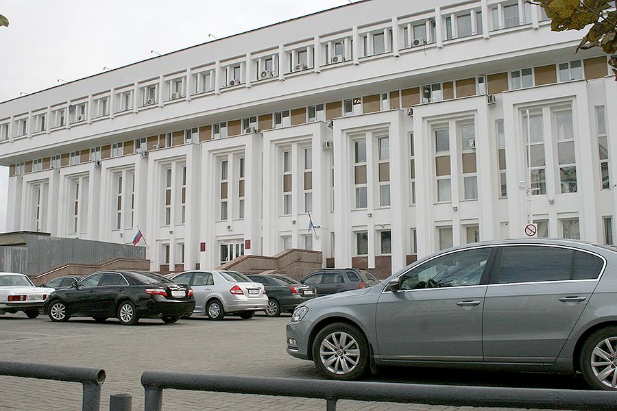 Стоянка администрации Тамбовской области