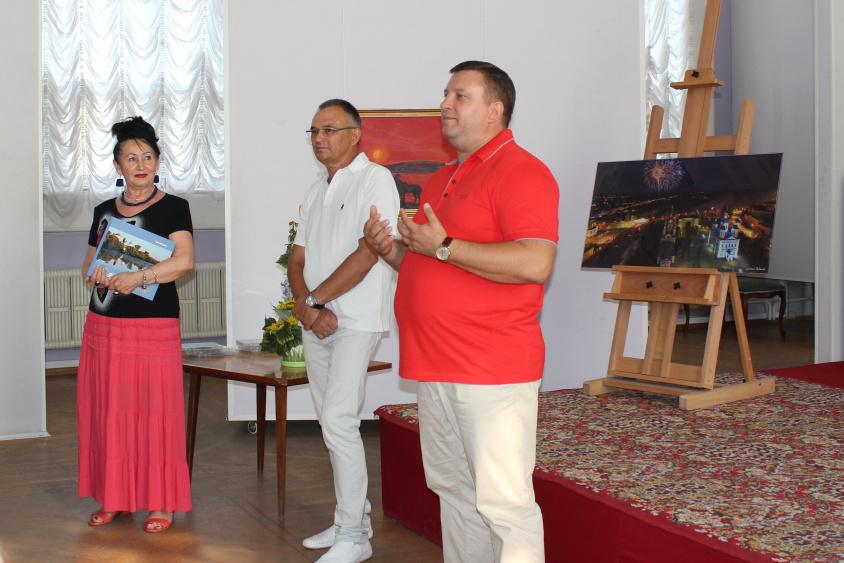 Алексей Кондратьев на презентации книги Рудакова
