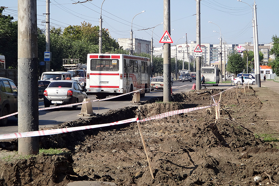 Бульвар Энтузиастов готовят в масштабной реконструкции. Фото ВТамбове