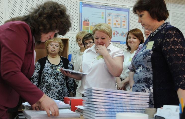 """В Госдуме просят правительство отменить """"ЕГЭ для учителей"""". Фото ИТАР-ТАСС"""