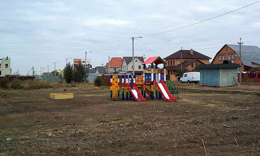 Детская площадка в Северном