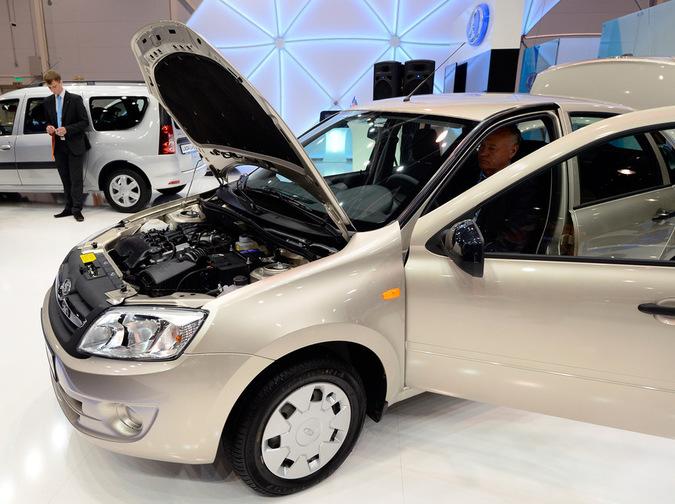 Автомобиль Лада Гранта, фото РИА Новости