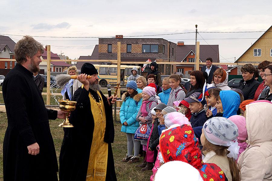 Начало строительства школы Сколково в Тамбове