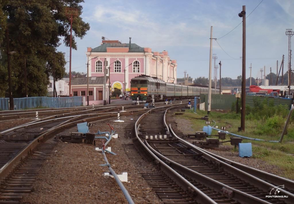 Жд-вокзал Тамбов