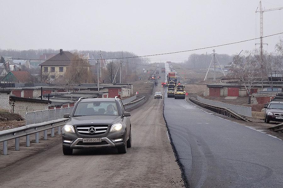 Путепровод. Фото ВТамбове.ру