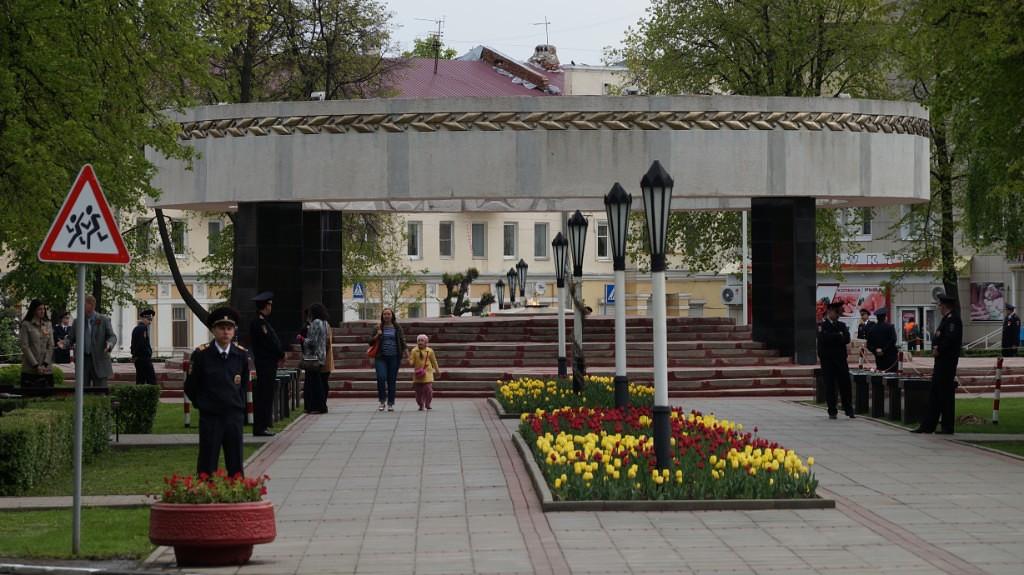 Вечный огонь в Тамбове. Фото Владимира Якимова.