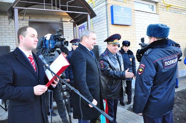 Администрация города ТамбоваОфициальный сайтНовости В микрорайоне «Уютный» открылся новый опорный пункт полиции