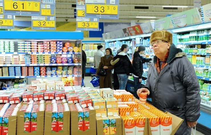 Рост цен в магазине