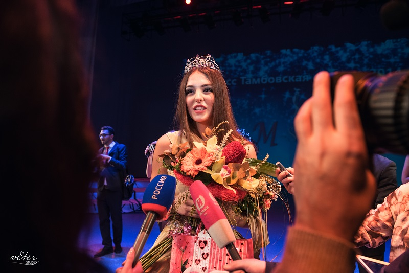 Победительница конкурса красоты в Тамбове - 2014 год