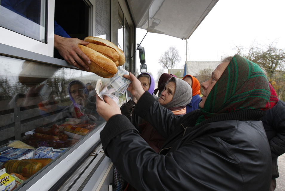 Цены на хлеб начали расти. Фото РИА Новости