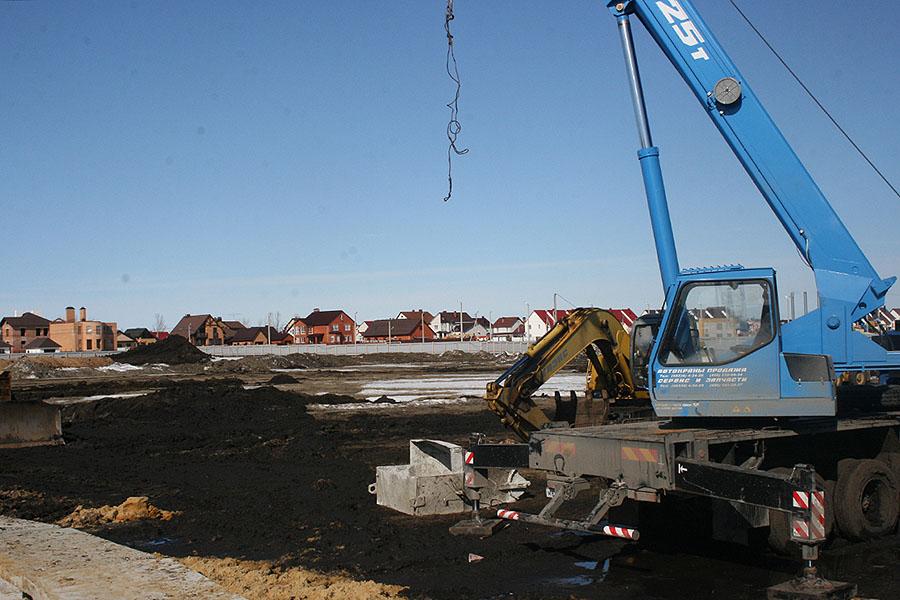 Начало строительства Сколково