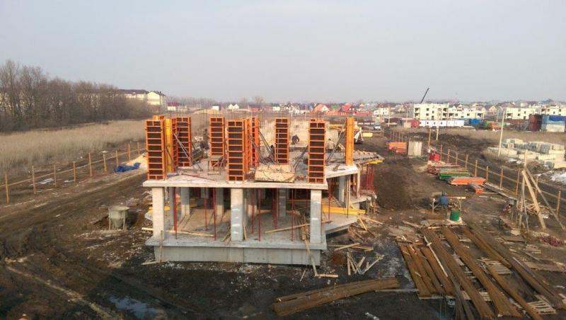Строительство жилого дома в Зведном. Фото звездный-тамбов.рф