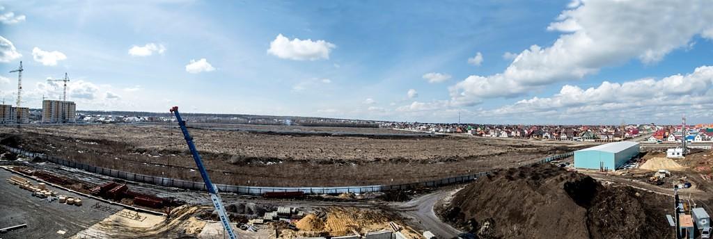 Территория под Олимпийский парк в Радужном. Фото Владимира Шашкина.