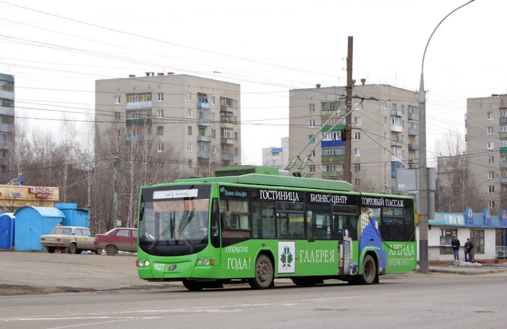 Троллейбусы в Тамбове