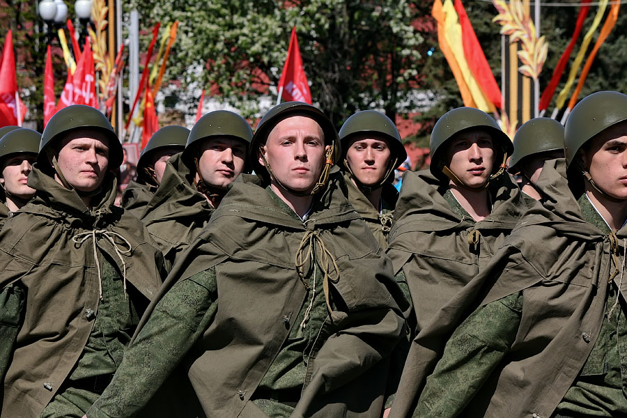 Парад Победы в Тамбове. Фото Михаила Карасева