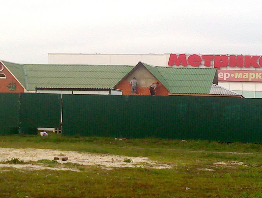 Отделка фасада мечети