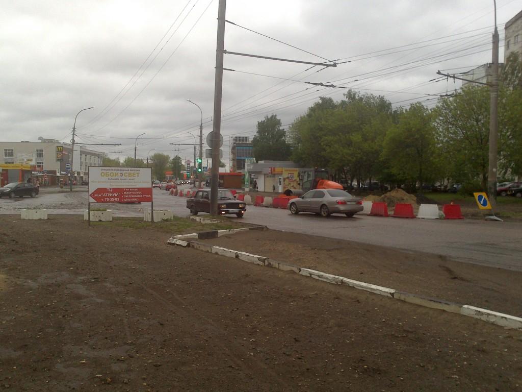 Ремонт бульвара Энтузиастов
