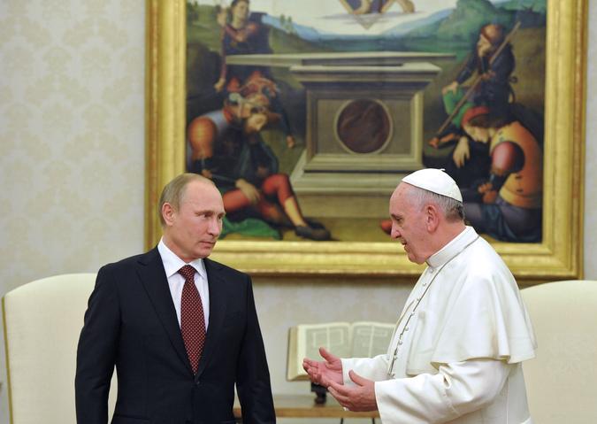 Визит В.Путина в Ватикан