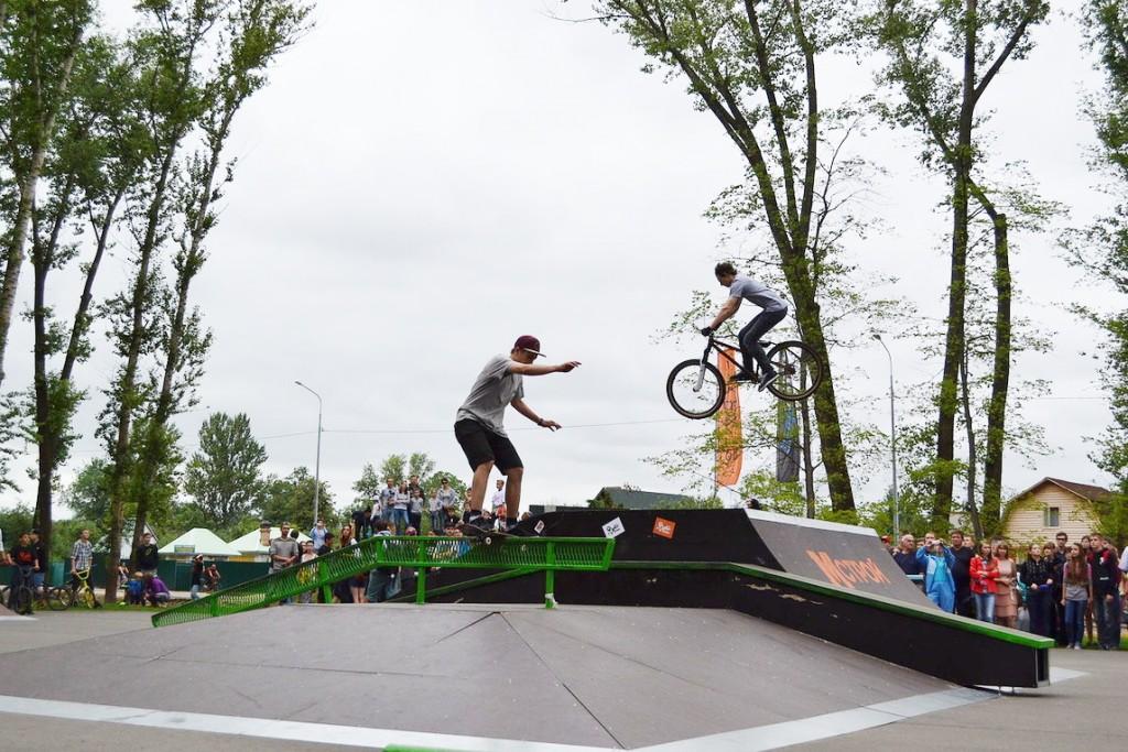 Скейт-парк в Тамбове. Фото ОнлайнТамбов.ру