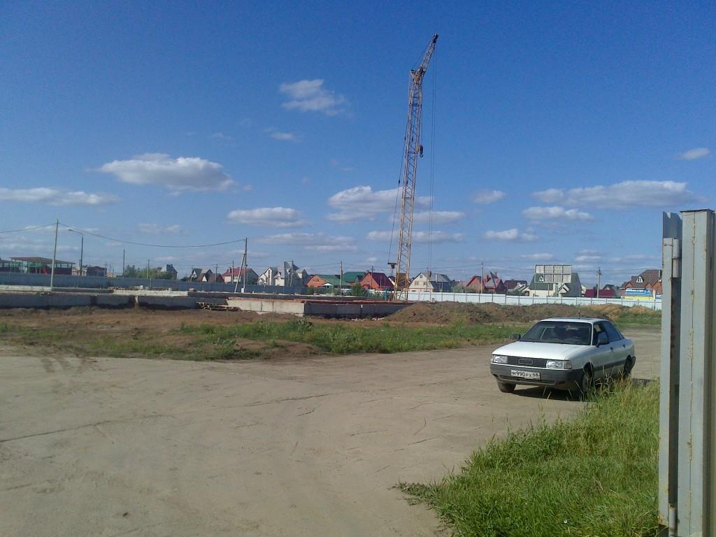 Строительство храма в честь преподобного Серафима Саровского
