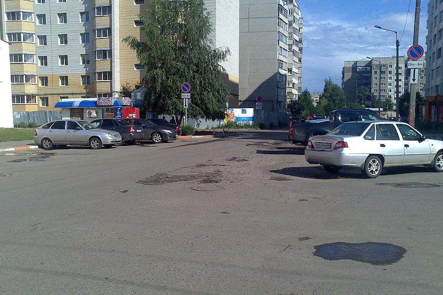 """Проезд у ТЦ """"Апельсин"""""""