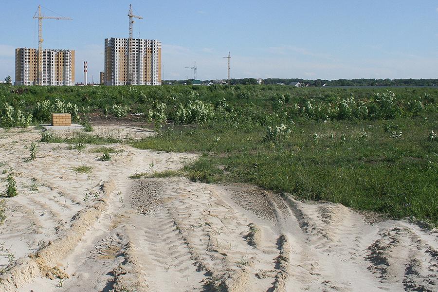 Территория бывшего Зеленхоза