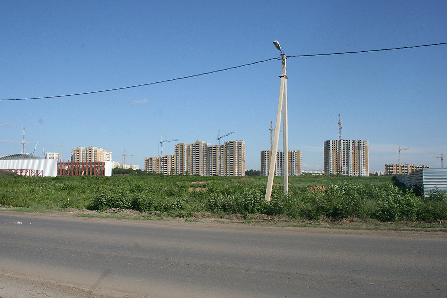 Вырубленный участок бывшего питомника Зеленхоза