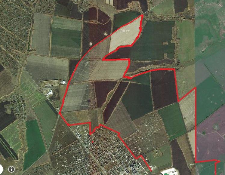 Схема планируемых границ