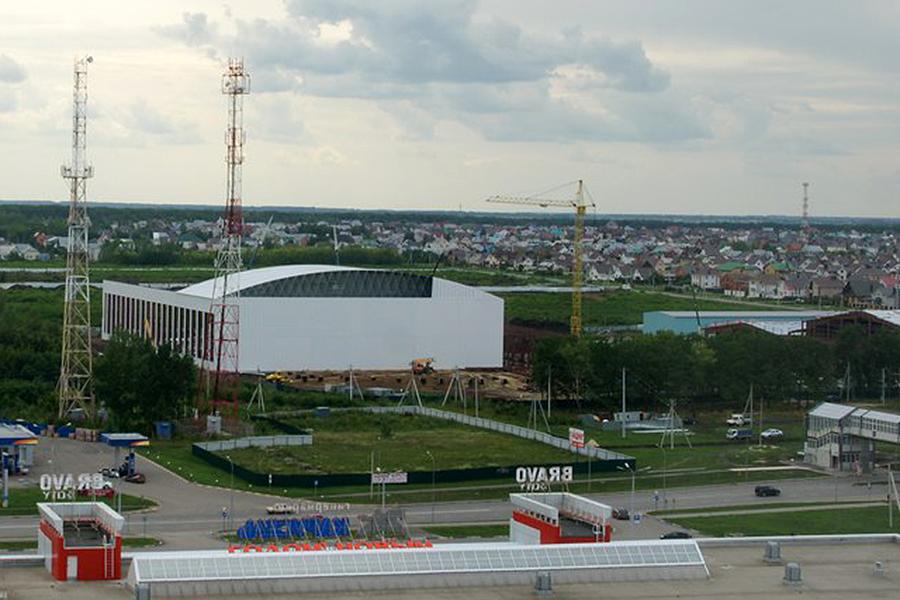 Центр единоборств в Радужном. Фото Маргариты Лопатиной