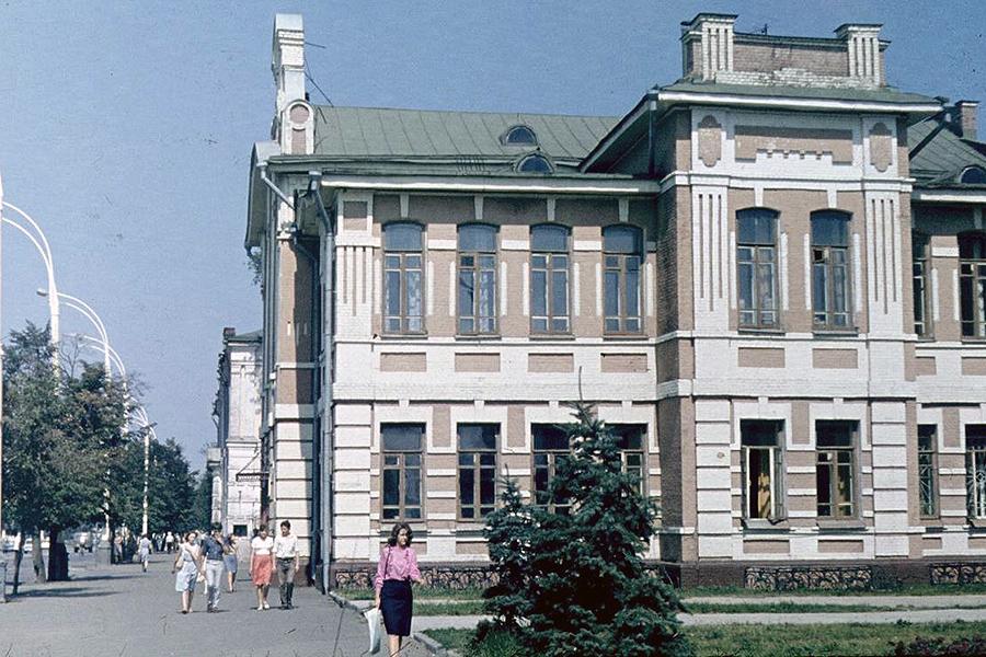 Тамбов в 1980-х