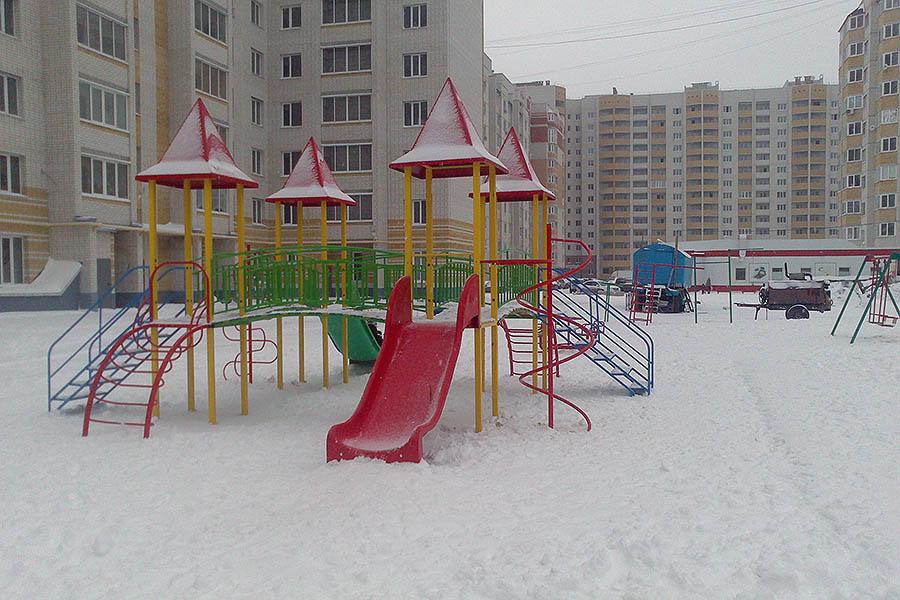 Детская площадка на улице Победы