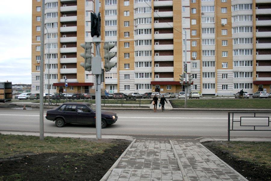 Светофор на Мичуринской, 142